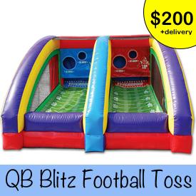 QB Blitz inflatable rental
