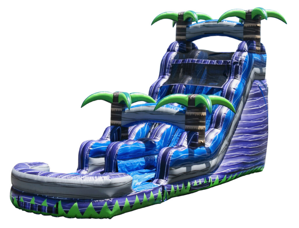 Large blow up inflatable water slide rental Grand Rapids